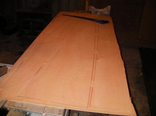 Canoe build project, 20' Freight Canoe, Canoe marine ply